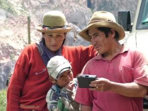 Cotahuasi family with SonSet radio
