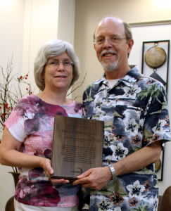 Barb and Dan 35-year recognition