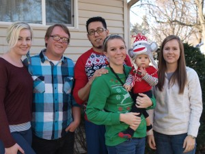 Christmast 2015 Family photo